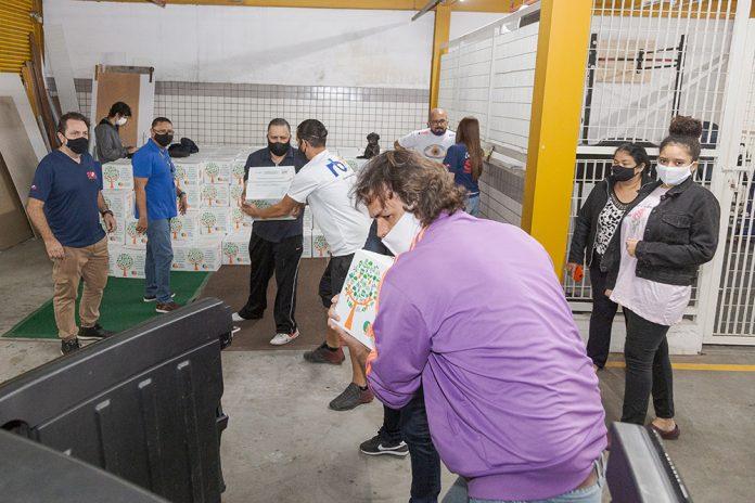 Eniac se une à Olhar de Bia e ao Grupo Conectados para arrecadação de cestas básicas
